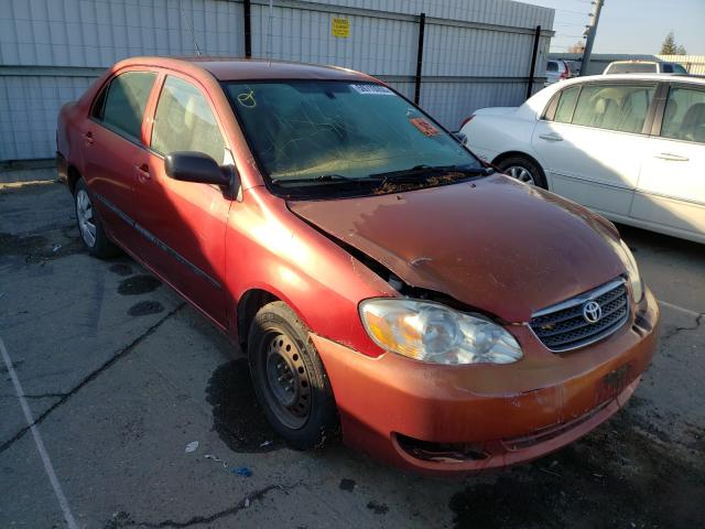 Salvage cars for sale from Copart Bakersfield, CA: 2005 Toyota Corolla CE