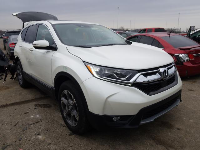 Salvage cars for sale from Copart Moraine, OH: 2018 Honda CR-V EXL
