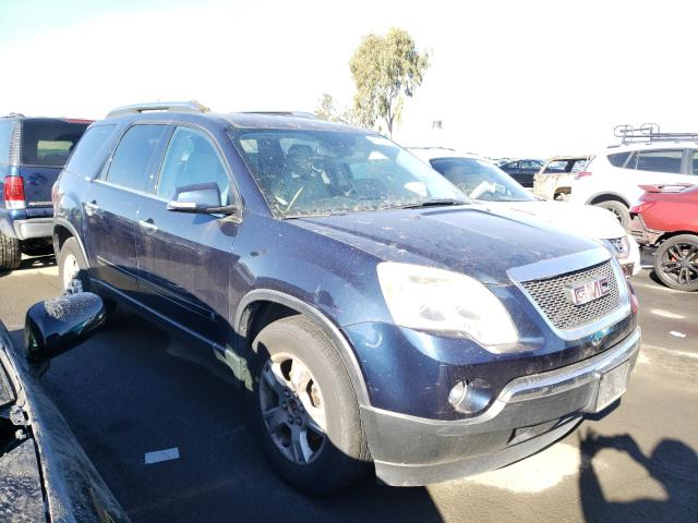 Salvage cars for sale from Copart Martinez, CA: 2009 GMC Acadia SLT