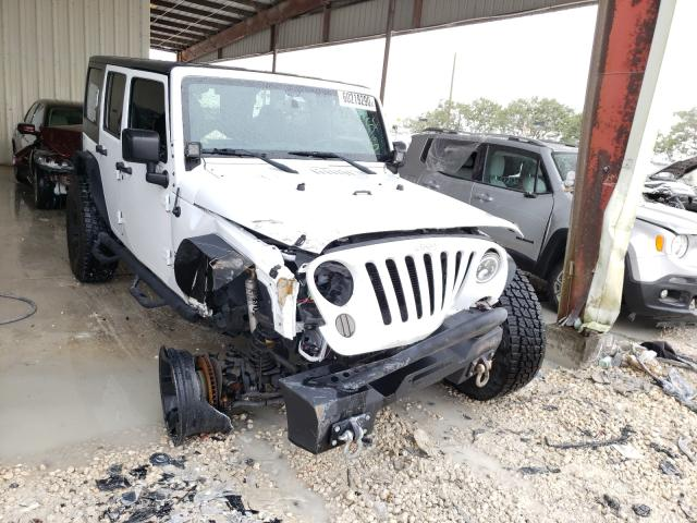 Salvage cars for sale from Copart Homestead, FL: 2016 Jeep Wrangler U