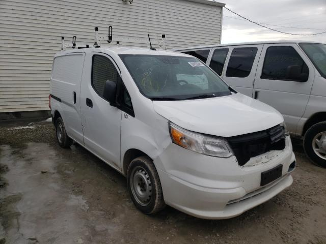 Salvage cars for sale from Copart Northfield, OH: 2017 Chevrolet City Expre