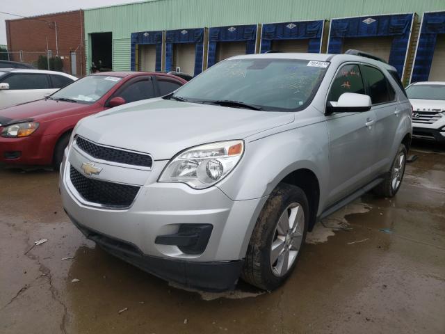 из сша 2013 Chevrolet Equinox Lt 2.4L 2GNALDEK8D1194663