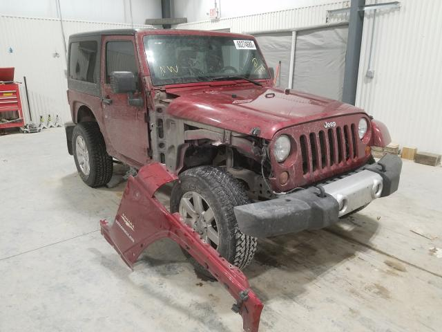 Salvage cars for sale from Copart Greenwood, NE: 2012 Jeep Wrangler S