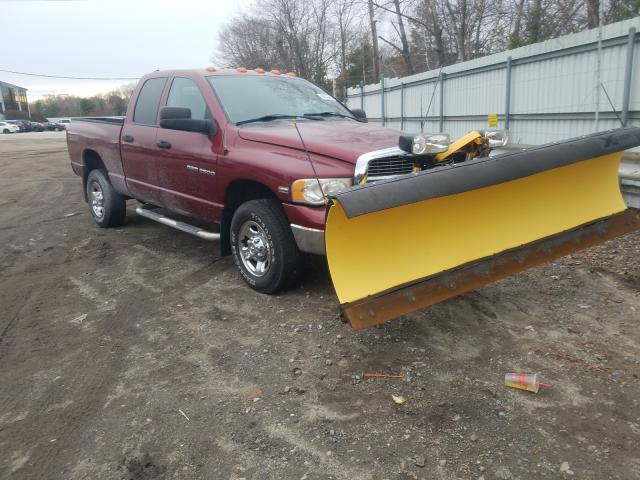 Salvage cars for sale from Copart North Billerica, MA: 2003 Dodge RAM 2500 S