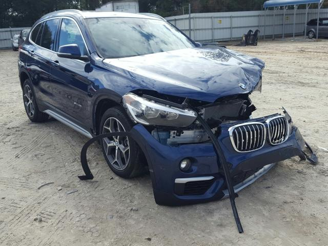 Salvage cars for sale from Copart Midway, FL: 2018 BMW X1 SDRIVE2