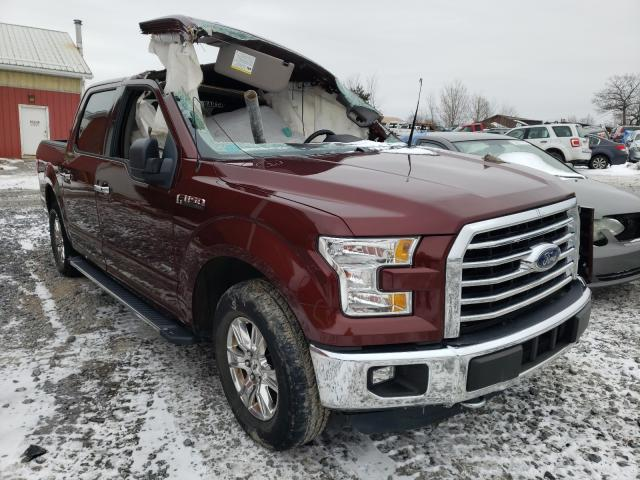 Salvage cars for sale from Copart Ebensburg, PA: 2015 Ford F150 Super