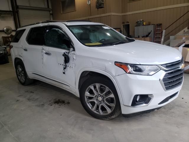 Chevrolet salvage cars for sale: 2019 Chevrolet Traverse P