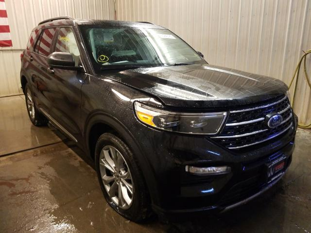 Salvage cars for sale from Copart Avon, MN: 2020 Ford Explorer X