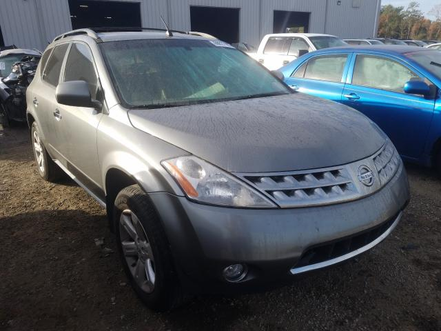 Salvage cars for sale from Copart Jacksonville, FL: 2007 Nissan Murano SL
