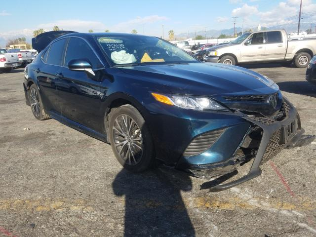 Salvage cars for sale from Copart Colton, CA: 2020 Toyota Camry SE