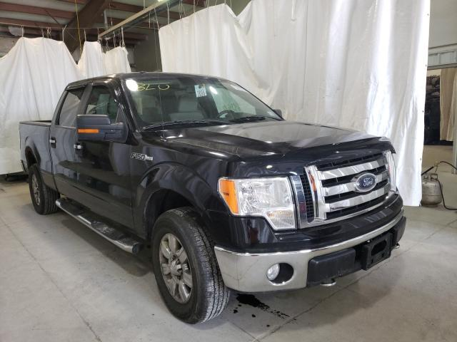 Salvage cars for sale from Copart Leroy, NY: 2009 Ford F150 Super