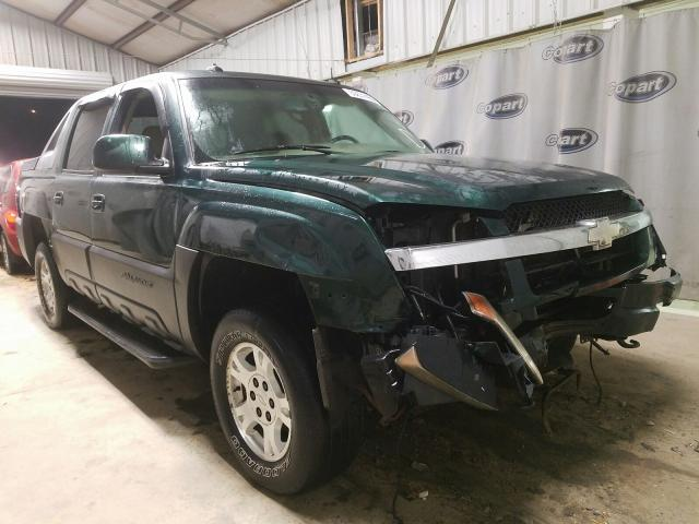 Salvage cars for sale at Tifton, GA auction: 2003 Chevrolet Avalanche
