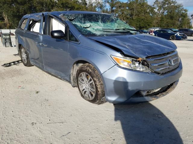 Salvage cars for sale from Copart Ocala, FL: 2011 Honda Odyssey EX