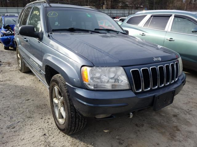 Salvage cars for sale from Copart Mendon, MA: 2001 Jeep Grand Cherokee