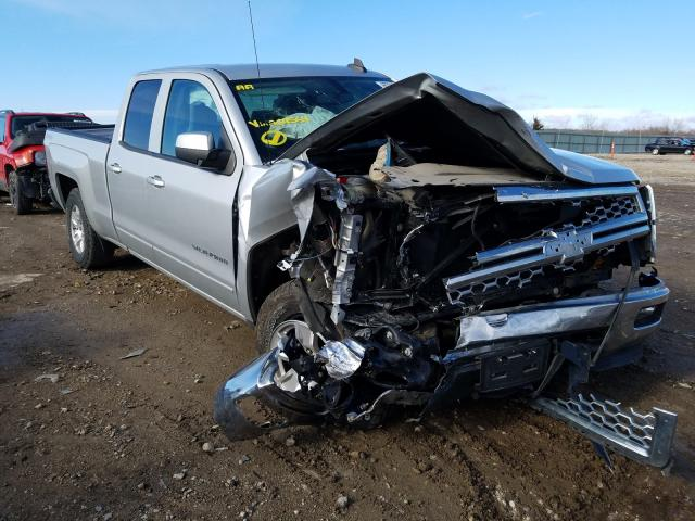 Salvage cars for sale from Copart Kansas City, KS: 2015 Chevrolet Silverado