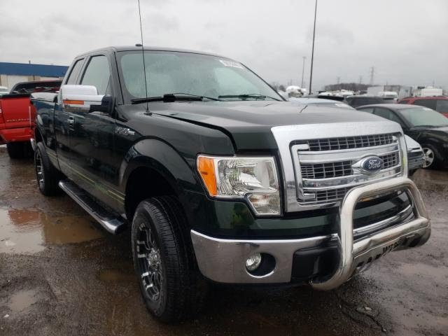 Salvage cars for sale from Copart Woodhaven, MI: 2013 Ford F150 Super
