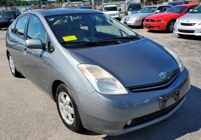 Salvage cars for sale from Copart Mendon, MA: 2004 Toyota Prius
