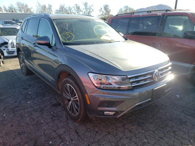 Salvage cars for sale from Copart Colton, CA: 2019 Volkswagen Tiguan SE