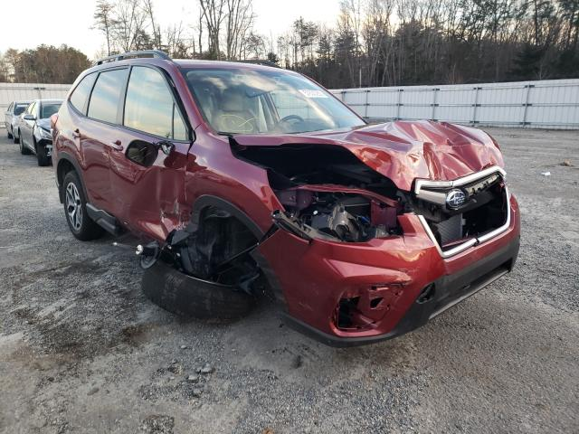 Salvage cars for sale from Copart Fredericksburg, VA: 2020 Subaru Forester P