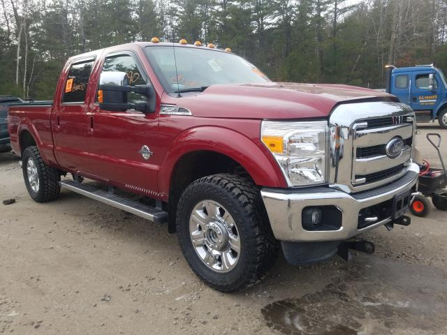 Salvage cars for sale from Copart Lyman, ME: 2014 Ford F250 Super