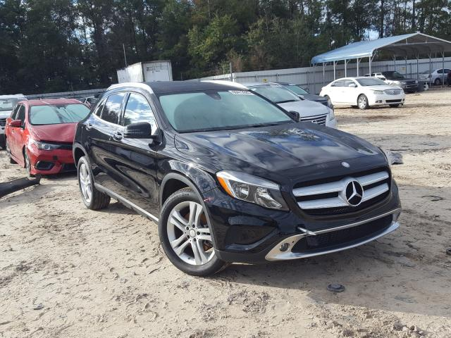 Salvage cars for sale from Copart Midway, FL: 2017 Mercedes-Benz GLA 250 4M
