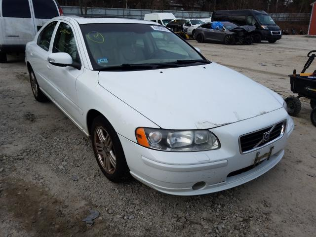 Salvage cars for sale from Copart Mendon, MA: 2007 Volvo S60