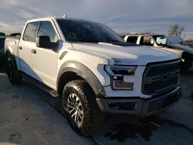 Salvage cars for sale from Copart Los Angeles, CA: 2019 Ford F150 Rapto