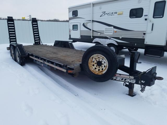 Fell Trailer salvage cars for sale: 2015 Fell Trailer