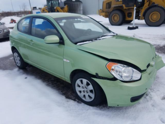 Salvage cars for sale from Copart Montreal Est, QC: 2010 Hyundai Accent SE