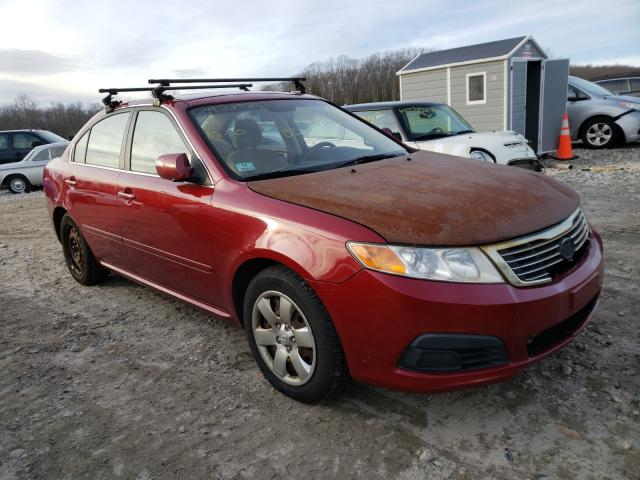 Salvage cars for sale from Copart West Warren, MA: 2009 KIA Optima LX