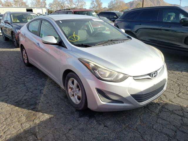 Salvage cars for sale from Copart Colton, CA: 2015 Hyundai Elantra SE