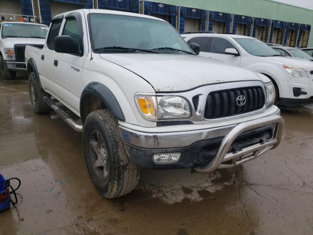 Salvage cars for sale from Copart Columbus, OH: 2003 Toyota Tacoma DOU