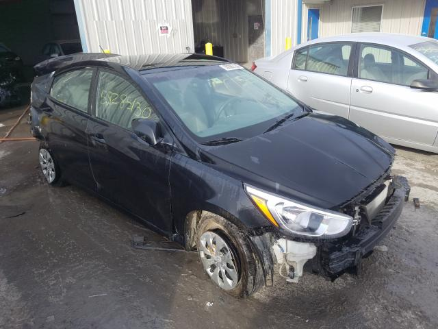 Salvage cars for sale from Copart Albany, NY: 2017 Hyundai Accent SE