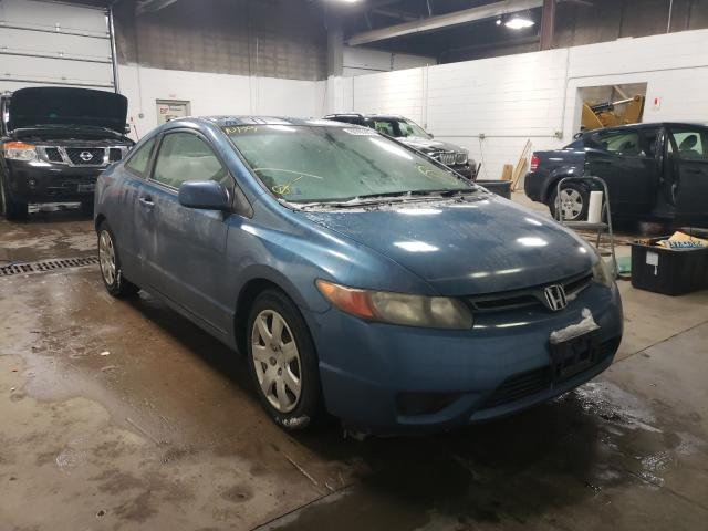 Honda Civic LX salvage cars for sale: 2006 Honda Civic LX