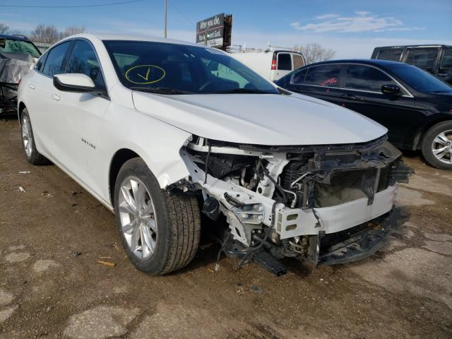 Salvage cars for sale from Copart Wichita, KS: 2019 Chevrolet Malibu LT