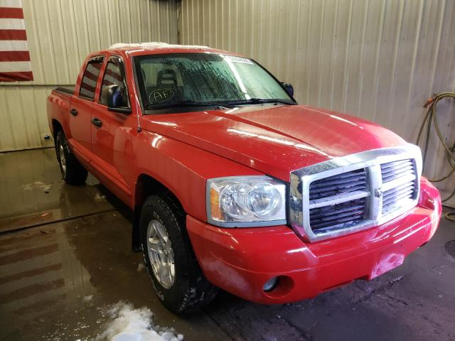 Dodge Vehiculos salvage en venta: 2005 Dodge Dakota Quattro