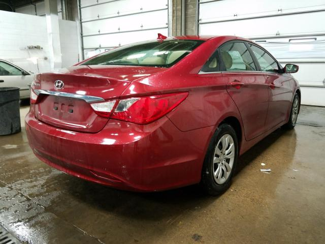 цена в сша 2012 Hyundai Sonata 2.4L 5NPEB4AC2CH441572