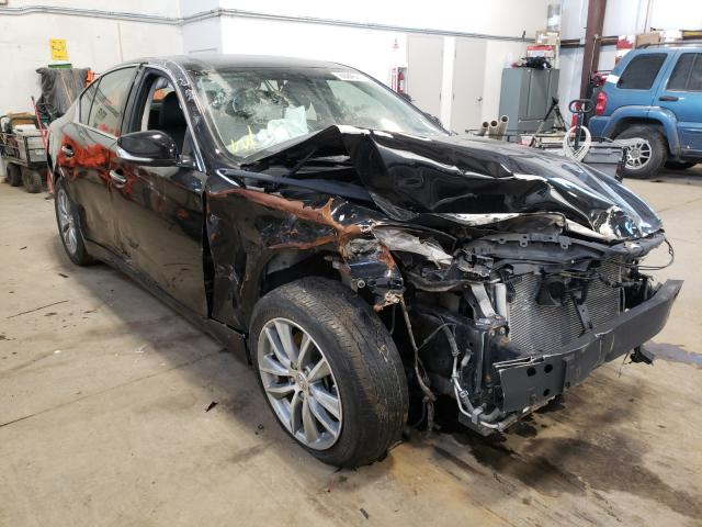 Infiniti Q50 Base salvage cars for sale: 2014 Infiniti Q50 Base
