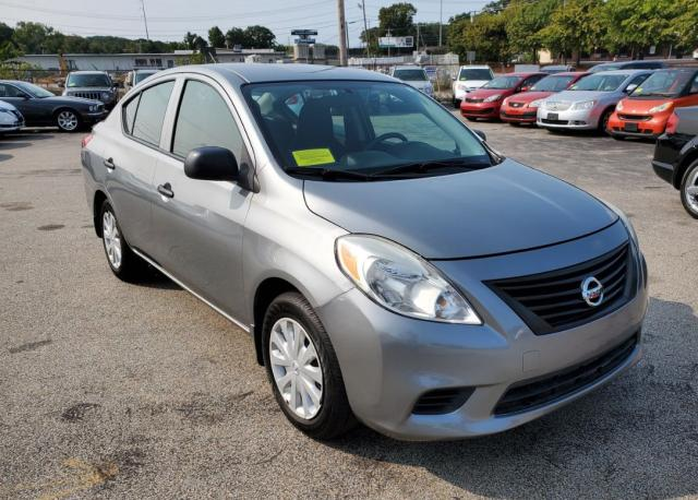 Salvage cars for sale from Copart Mendon, MA: 2012 Nissan Versa S