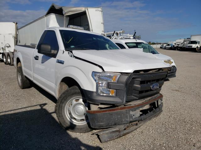 Salvage cars for sale from Copart Orlando, FL: 2017 Ford F150