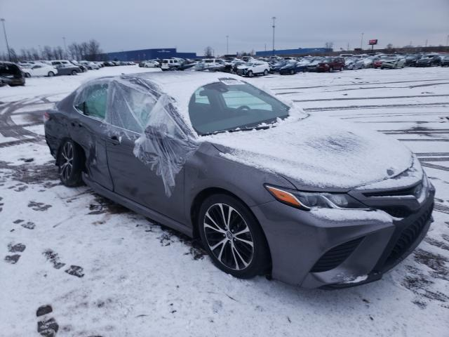 Salvage cars for sale from Copart Woodhaven, MI: 2019 Toyota Camry L