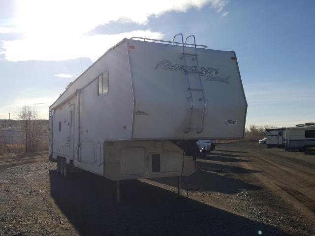 Salvage cars for sale from Copart Billings, MT: 2005 Nomad Trailer