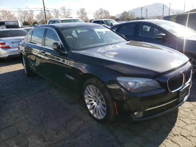 Salvage cars for sale from Copart Colton, CA: 2012 BMW 750 LI