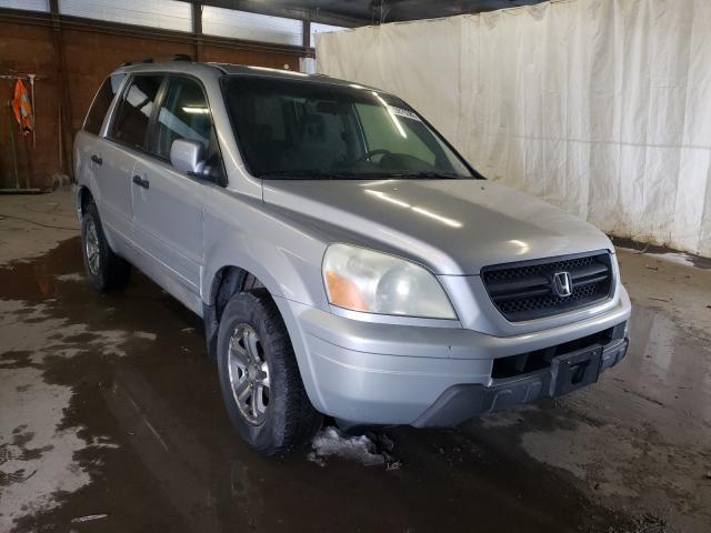 Vehiculos salvage en venta de Copart Ebensburg, PA: 2004 Honda Pilot EX