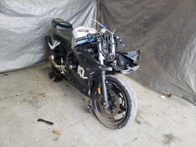 Salvage cars for sale from Copart Duryea, PA: 2006 Yamaha YZFR6 L