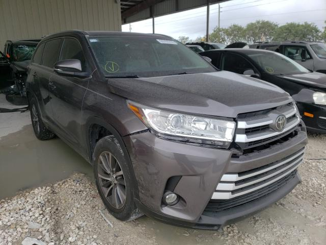 Salvage cars for sale from Copart Homestead, FL: 2018 Toyota Highlander