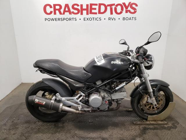 Salvage cars for sale from Copart Sacramento, CA: 2005 Ducati M600