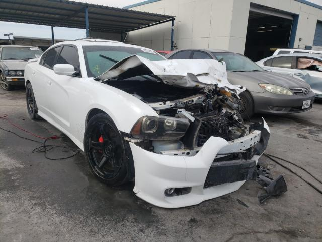 Salvage cars for sale from Copart Anthony, TX: 2014 Dodge Charger SR