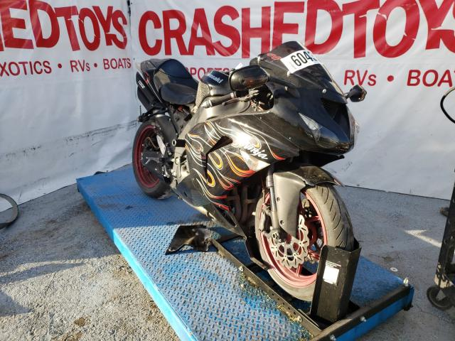 Salvage cars for sale from Copart Anthony, TX: 2007 Kawasaki ZX1000 D