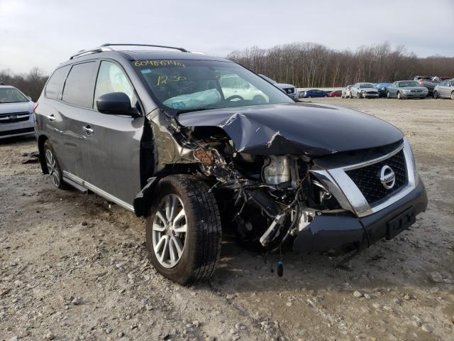 Salvage cars for sale from Copart West Warren, MA: 2013 Nissan Pathfinder